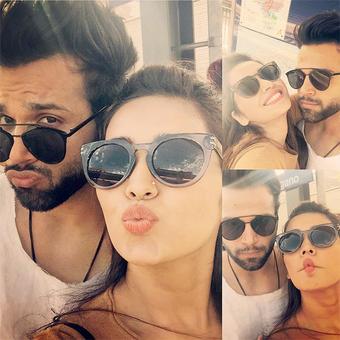 PIX: TV couple Asha Negi, Ritvik Dhanjani holiday in Switzerland