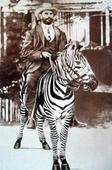 Did you know? Kenya's first private doctor visited patients on a Zebra
