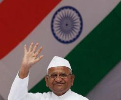 Poll results reflect people's anger against UPA: Hazare