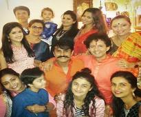 Ragini Khanna, Supriya Pilgaonkar, Anita Kanwal of Sasural Genda Phool celebrate Diwali together