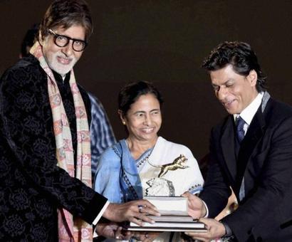SRK, Big B, Ambani to witness Mamata's swearing-in today