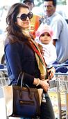 Spotted: Isha Koppikar with daughter Rianna