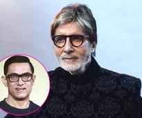 Amitabh Bachchan: Aamir Khan is a great actor, not me!