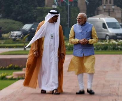 India, UAE ink 14 pacts; no word on $75 bn investment
