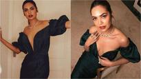 In Pics: Trolls target Esha Gupta once again, this time for sharing her picture in an emerald green gown
