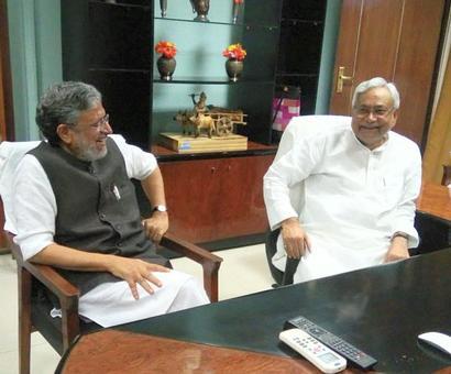 Nitish recommends CBI probe in scam which RJD alleged involves Sushil Modi