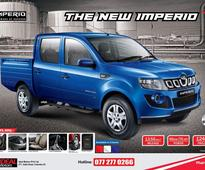 Mahindra Imperio launched in Sri Lanka at LKR 3,495,000
