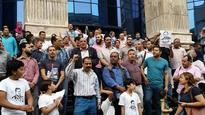 Egyptian Social Democratic Party joins journalists' sit-in