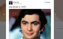 'Alia Bhatt in 1970': Arun Lal Shares Rishi Kapoor's Picture