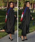 From Cannes to Cap and Gown! Eva Longoria graduates with a Master's degree