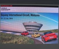 New 718 Boxster & 718 Boxster S previewed at PWRS 2016, Sepang