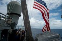 US warship sailed in waters off island claimed by China: Pentagon