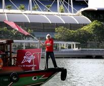 Richard Branson launches Virgin Active in Singapore