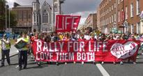 Massive anti-abortion rally held in Dublin