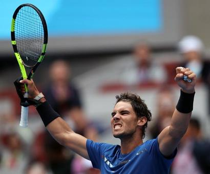 Tennis Roundup: Ruthless Nadal storms into semis