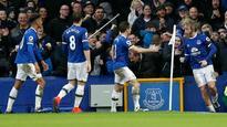 Bolt from blue: Manchester City blanked out by Everton