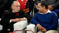 Baijal takes oath as Delhi's Lt. Governor, Kejriwal welcomes him