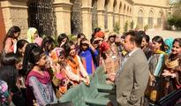 European Union delegation visits AIOU