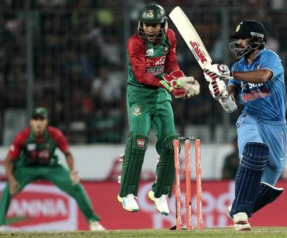 PHOTOS: Dhawan's fifty lifts India to record 6th Asia Cup triumph