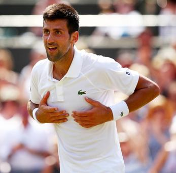 Djokovic means business as he reaches fourth round