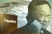BlackBerry shifts from phone, lays off small number of employees