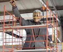 Palestine Madiba statue a freedom symbol