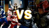 The Mighty Morphin versus series: Power Rangers vs. Dredd