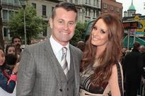 Shay Given and Becky Gibson toast to 'lifetime of memories' as they reveal they are expecting second child together