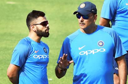Sky is the limit for Kohli, says Shastri