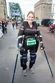 'Bionic' paralysed woman starts Great North Run five days early - and has raised over half a MILLION