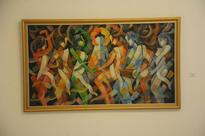 Floating in colours and rhythm of  cubist romance