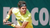 Milos Raonic wins opening match at Monte Carlo Open
