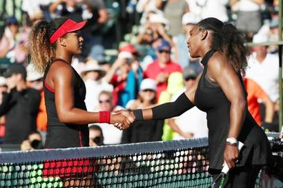Red-hot Osaka powers past Serena in Miami