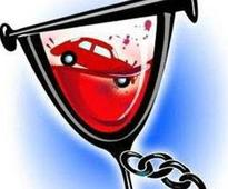 40% caught driving drunk are found without licence