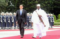 What does Jammeh have to gain by making The Gambia an Islamic Republic?