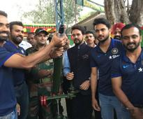 India vs New Zealand: Ajinkya Rahane, Rohit Sharma visit army base on eve of second ODI
