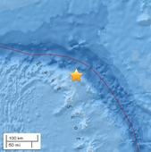 Magnitude 5.9 quake jolts South Georgia