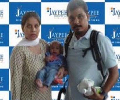 Pak baby Sushma promised help arrives in Delhi for treatment