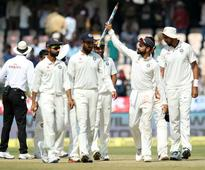 PHOTOS: 'Unbeaten' India thump Bangladesh by 208 runs in one-off Test
