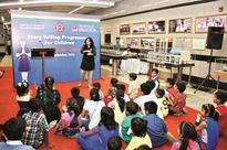 Story-telling session introduces children to bravehearts
