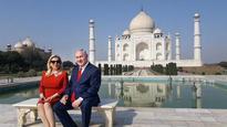 Israeli PM Netanyahu visits Taj Mahal
