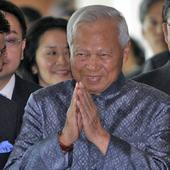Thai regent who will act as caretaker until new king takes over is sprightly 96-year-old face of establishment