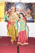 Emotions of Radha in dance format