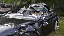 Preliminary report reveals Tesla auto-pilot fan was speeding before he died