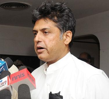 Manish Tewari to join US think-tank as distinguished fellow