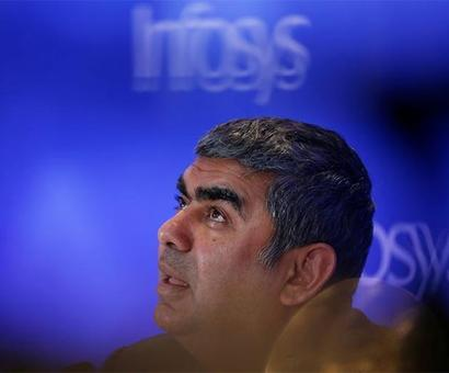 Sikka snubs Trump, says Indian IT not dependent on H-1B