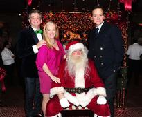 Anne Hearst and Jay McInerney and George Farias host their annual holiday cocktail reception