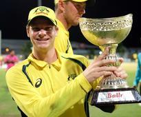 Marsh powers Aussies to Tri-Nation ODI win