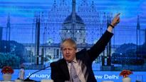 British Foreign Secretary Boris Johnson pitches for FTA with India