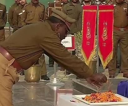 Pulwama terror attack martyr laid to rest